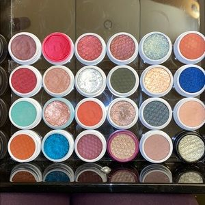 Lot of 24 colourpop eyeshadows